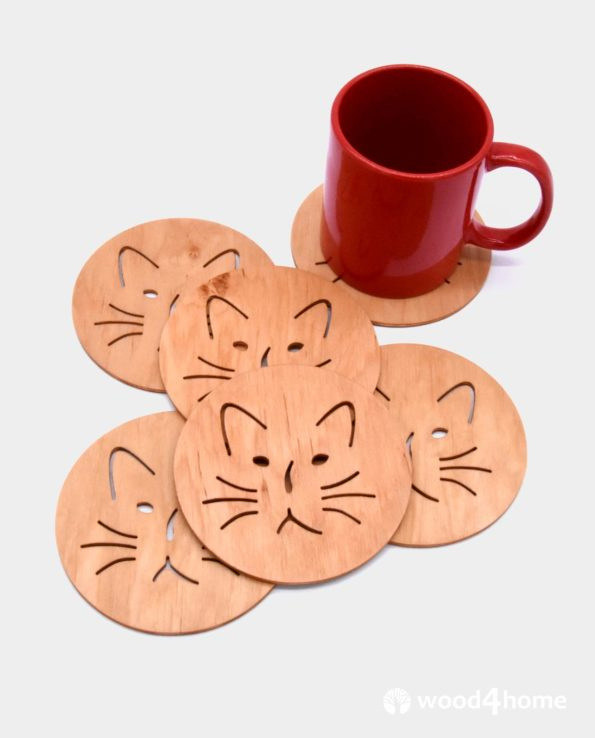 coasters cat