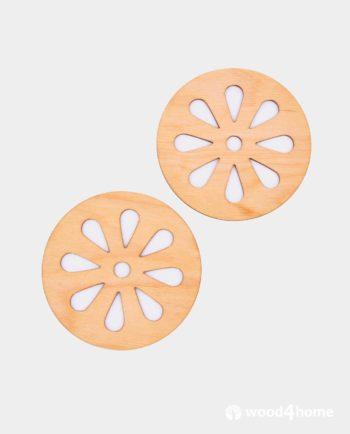 cup coasters lemon ornament