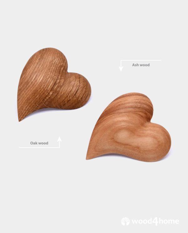heart brooch wooden jewelry online