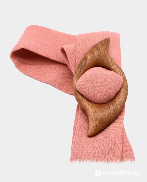 scarf clip wood