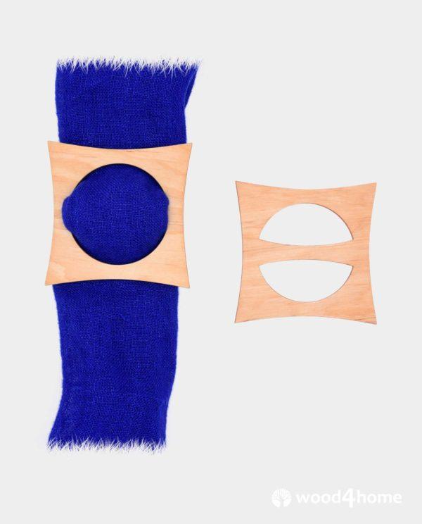 Scarf ring, scarf holder, towel holder, handmade,