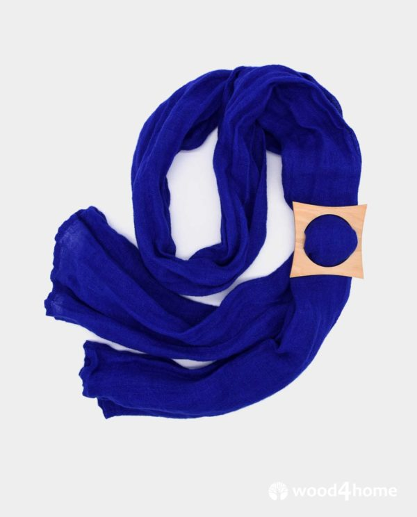 Scarf ring, scarf holder, towel holder, handmade