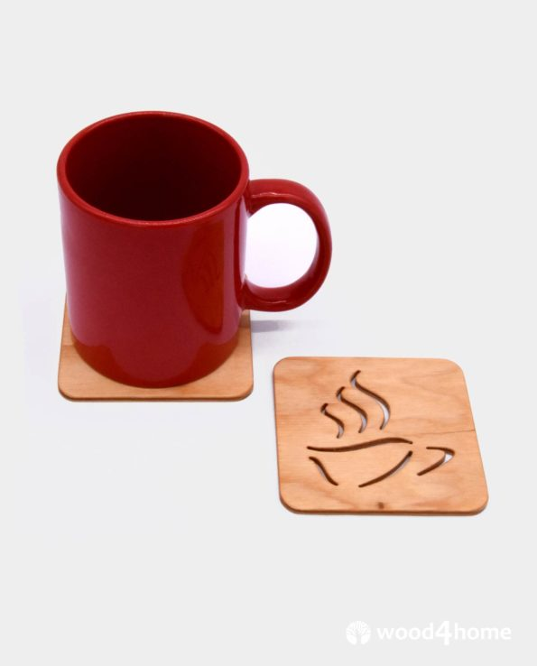 set coaster tea lover